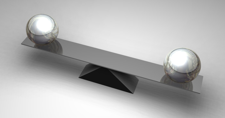 balans, zelfvertrouwen, voldoening, evenwicht zoeken